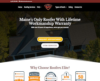 Standing Seam Metal Roof Maine