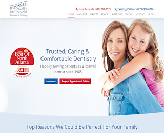 Best Dentist In Roswell GA