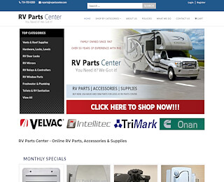 rvpartscenter.com