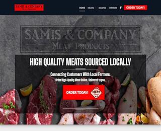 samismeats.com
