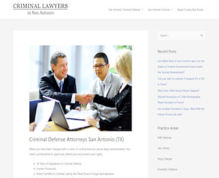 Criminal Defense Lawyer San Antonio