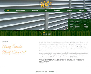 Wood Fencing Sarasota