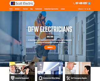 Industrial Electrician Dallas