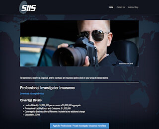 Private Investigator Insurance