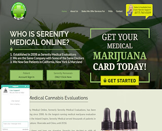 Online Marijuana Evaluation
