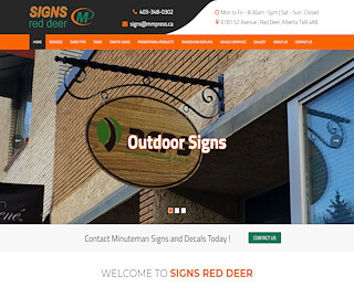 Business Signs Red Deer