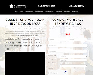 Dallas Mortgage Companies