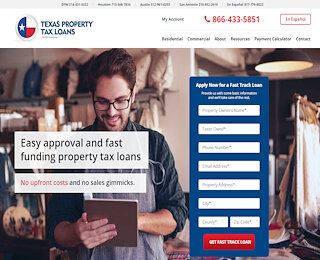 Property Tax Loans Texas