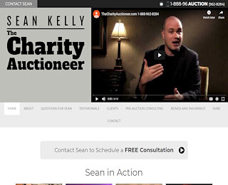 thecharityauctioneer.com