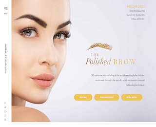 thepolishedbrow.com