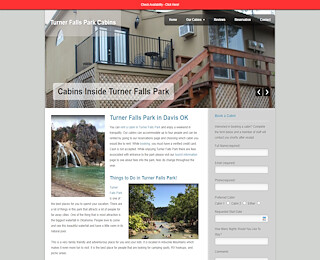 cabins in Oklahoma turner falls