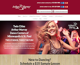 best ballroom dance studio Twin Cities