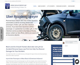 Uber Accident Lawyer Downtown Miami