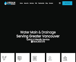 Water Main Break Burnaby