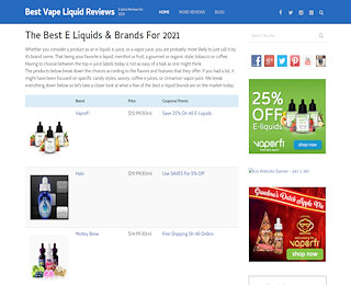 Vape Juice Reviews