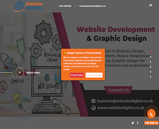 website design company in London