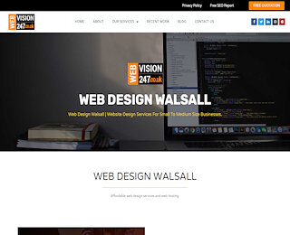 Website Design Services Willenhall
