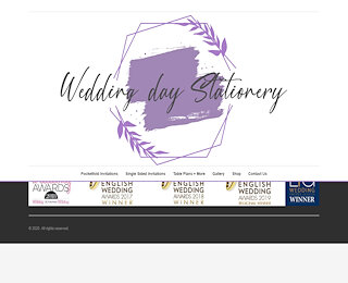 Multi award winning wedding stationery