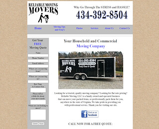 Central Virginia moving company