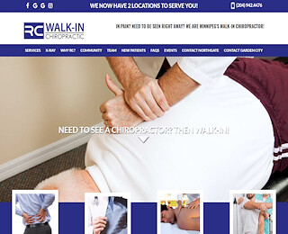 Walk in Chiropractor Winnipeg